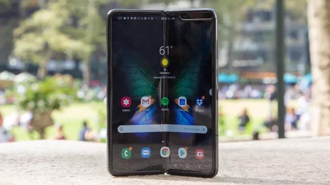 Samsung Galaxy Fold update hub