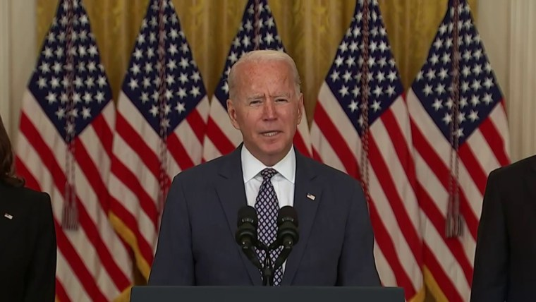 President Biden Promises to Return All Americans from Afghanistan